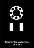 Rodamientos o Rulemanes de rueda: